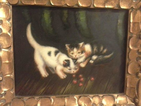 Sweetwater Branch Inn: Bathroom Painting in the Isadora