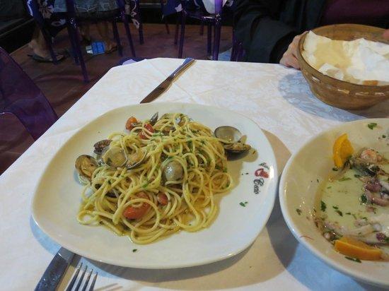Ristorante Cecio: Clam pasta