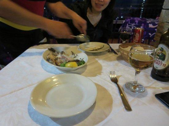 Ristorante Cecio: baked fish