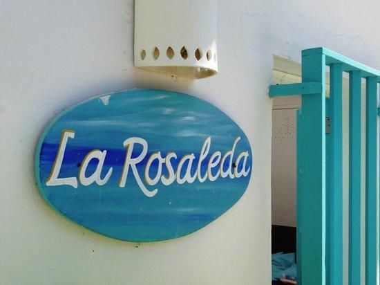 Posada La rosaleda: Entrata