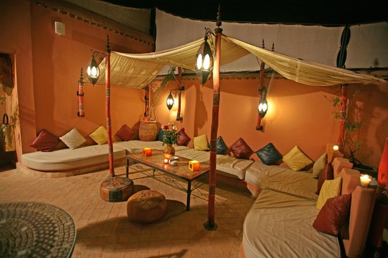 Riad Ain Marrakech : Terrasse