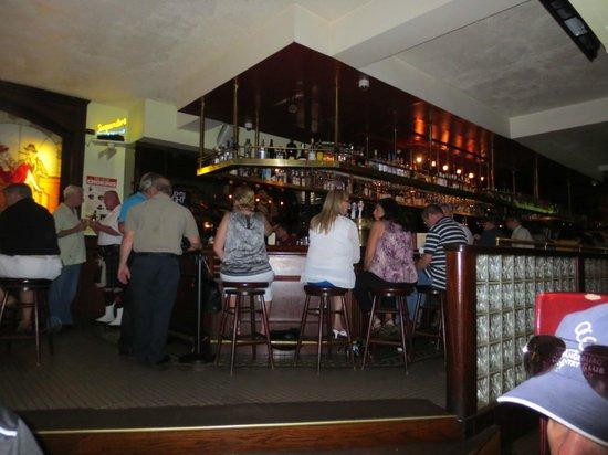 Suspenders : bar area