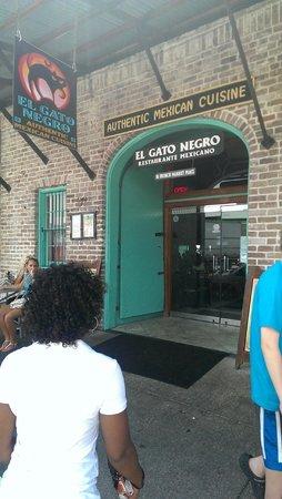 El Gato Negro Mexican Restaurant: El Gato Negro - Entrance