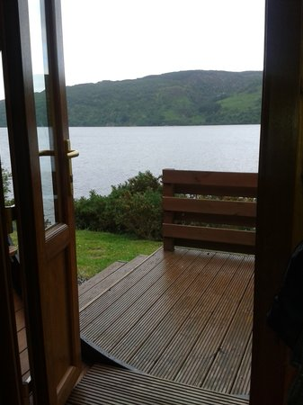 ‪‪Loch Ness Highland Lodges‬: View from the hobbit‬