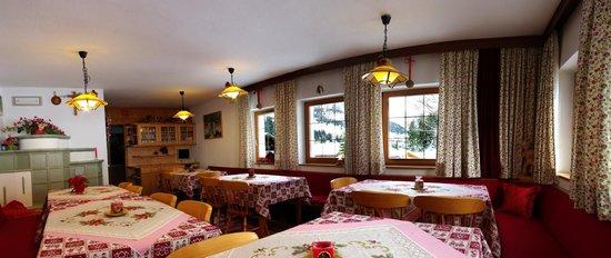 Villa Insam: sala colazione