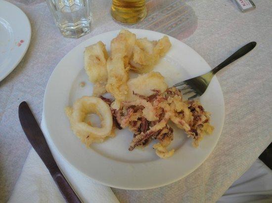 Restaurant Doloma: Calamari fritti