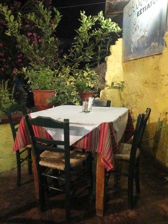 Restaurant Doloma: Tavolo