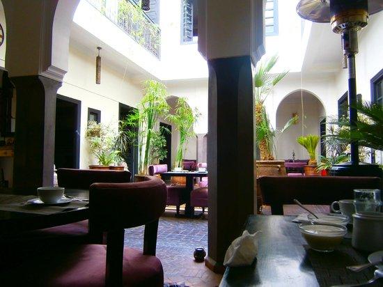 Ryad Amiran: il patio
