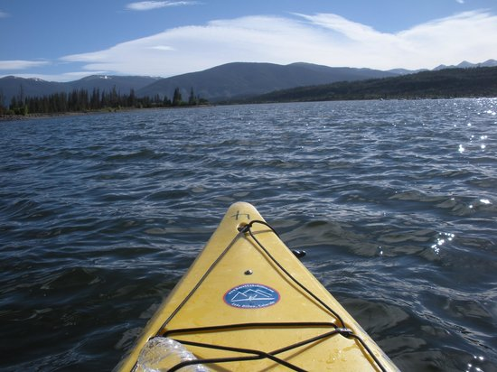 Adventure Paddle Tours: The very start of the tour
