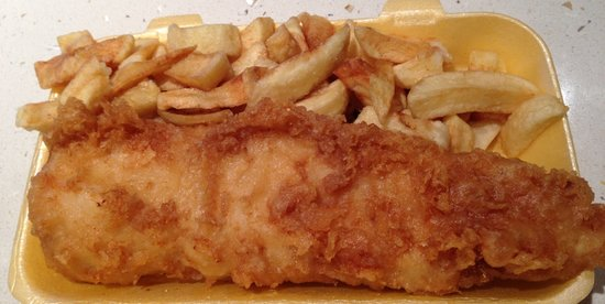 Flounders: Fish & Chips