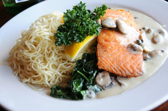 Maggie McFly's: Pan Seared Salmon