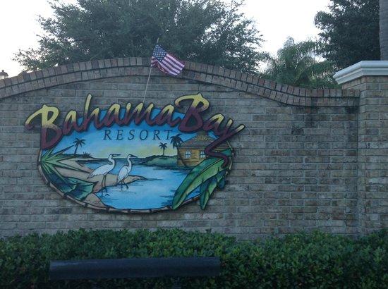 Bahama Bay Resort Orlando by Wyndham Vacation Rentals: entrance