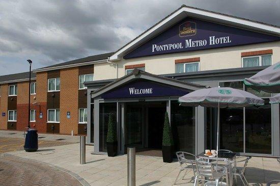 Best Western Pontypool Metro Hotel: Exterior