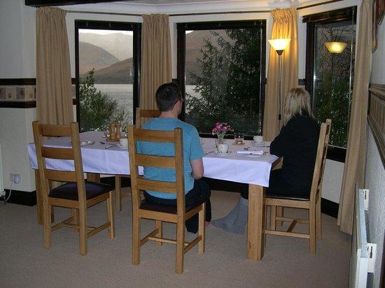 Seafield House Bed & Breakfast: Dining room