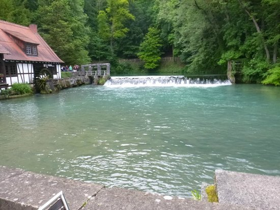 Blautopf: A great spring in a great area
