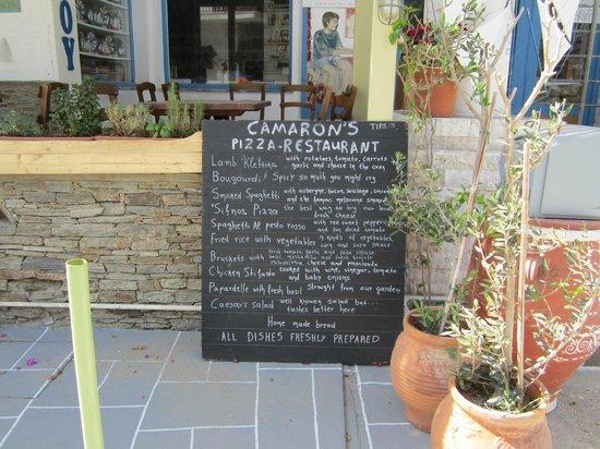 Camaron Restaurant: Todays specials