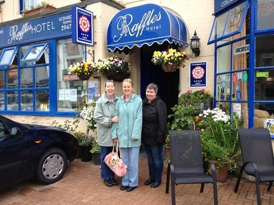 Raffles Hotel: having a great time at the Raffles