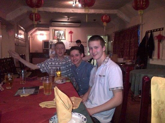 Birthday celebrations at Lucky Dragon