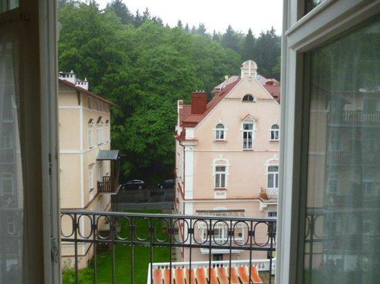 Falkensteiner Hotel Grand MedSpa Marienbad: unfortunate bad weather