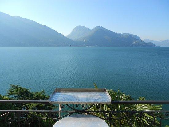 B&B Miramusi: balkonview