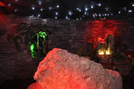 Shalom: Visit the underground fairy and leprechaun cavern.