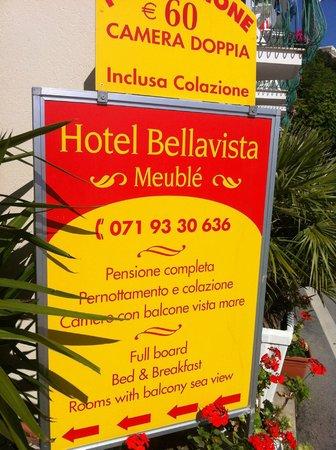 Hotel Bellavista: insegna