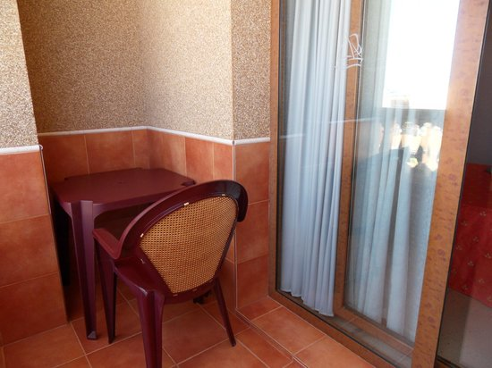 Sensity Hotel Vent de Mar: petit balcon
