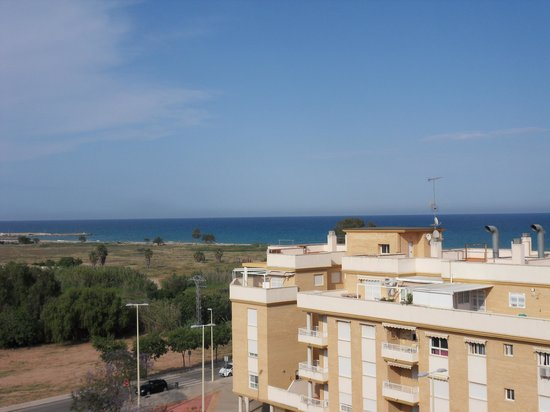 Sensity Hotel Vent de Mar: vue du balcon