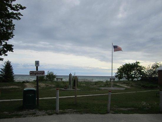 40 Mile Point Lighthouse: area