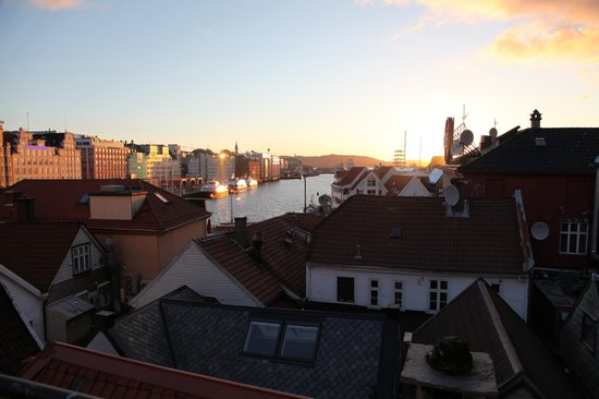 Bergen YMCA Hostel: View from The terrace