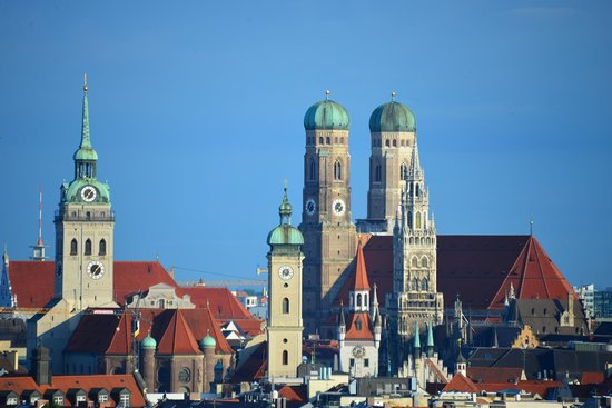 View from Room at Holiday Inn Munich - City Centre