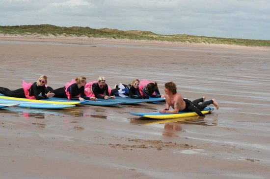 Northside Surf School: Hen do