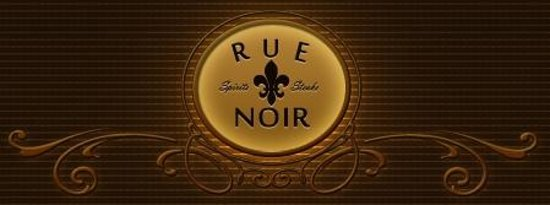 Rue Noir Steakhouse: Logo