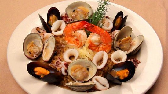 Rue Noir Steakhouse: Seafood Risotto