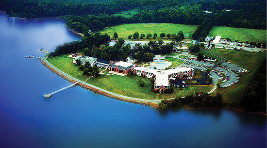 North East, MD: Aerial view of Sandy Cove Ministries