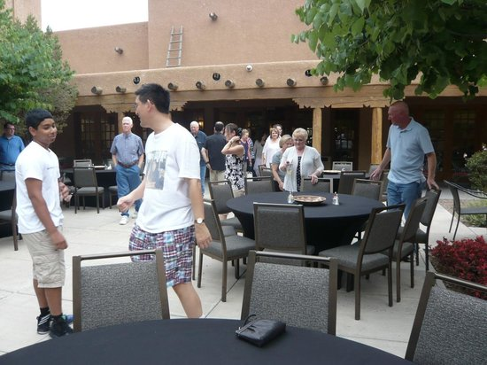 Courtyard Albuquerque: Inner courtyard where people could have weddings, gatherings, etc