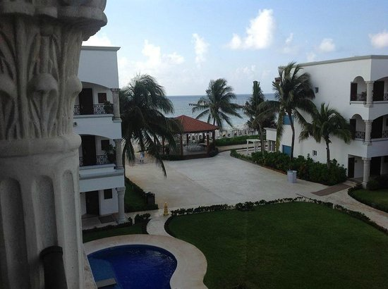 The Royal Playa del Carmen: View from room 831
