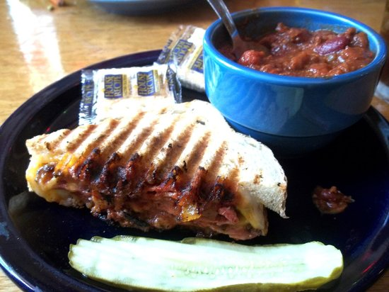 Maggie's Restaurant: Grilled Panini w/ Chili