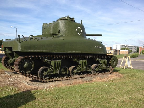 f3b2398cbc2a Tank outside the museum. - Picture of The Tank Museum