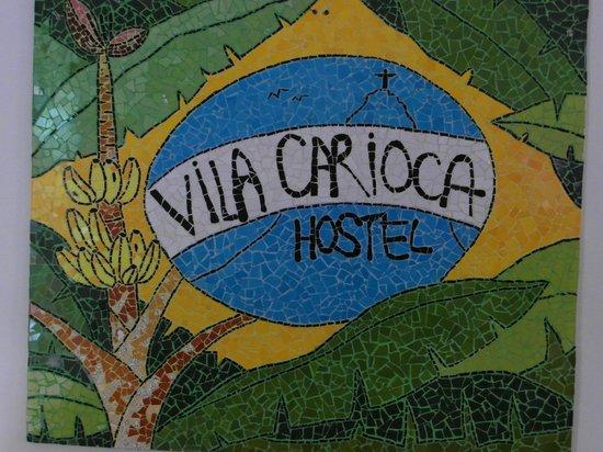 Vila Carioca Hostel: Entrada