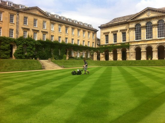 Worcester College: Green and greener