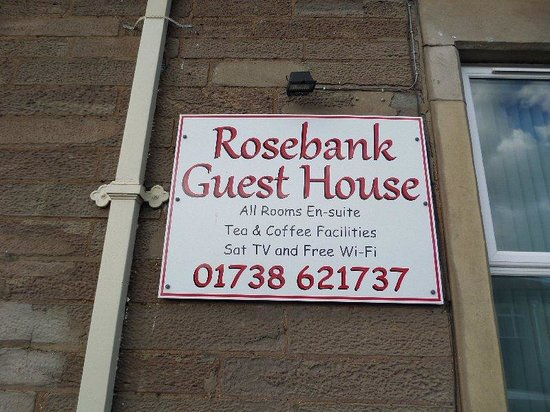 Rosebank Guest House: Our Favourite Guest House.