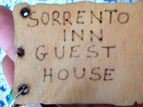 Sorrento Inn Guesthouse : La chiave...