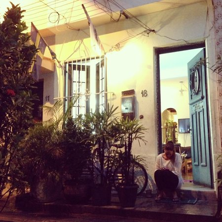 Hostel Harmonia: Harmonia udefra