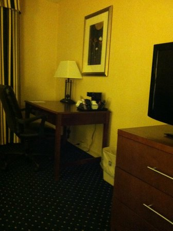 Comfort Inn Randolph: Desk/work table