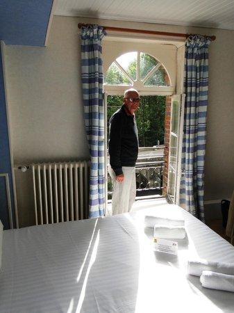 Auberge des Vieux Moulins Banaux: our room