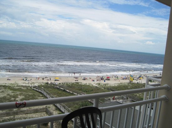 Courtyard by Marriott Carolina Beach: View from 6th Floor Room
