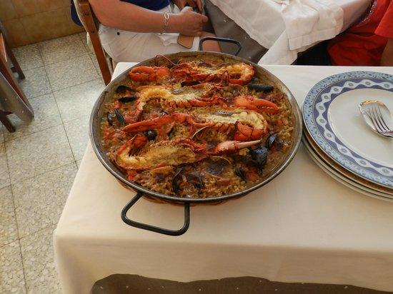 RESTAURANTE GUILLEN: Paella de Bogavante