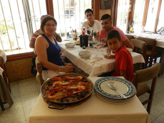 Restaurante Guillen : comida en familia