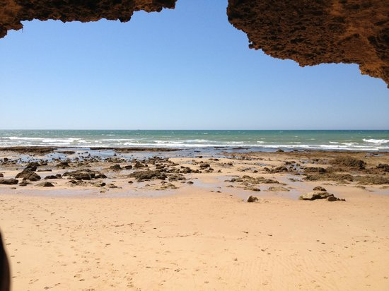 Algarve, Portugal: Caves , beaches and rock pools
